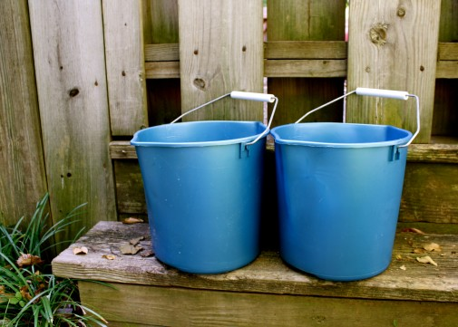 You have two buckets to choose from when conflict fires arise.